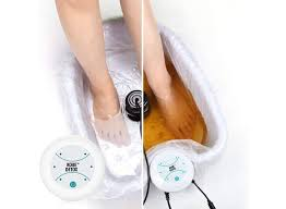 FOOT SPA DETOX DEMONSTRATION